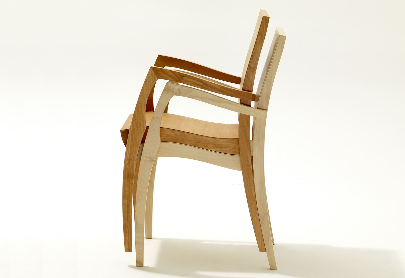 Stackable Chair Grasshopper2 By Sixay Furniture Solid Wood