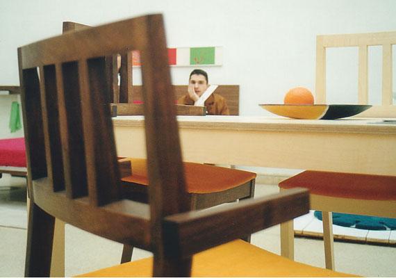 solid tisch in ahorn mit 4 st hle. Black Bedroom Furniture Sets. Home Design Ideas