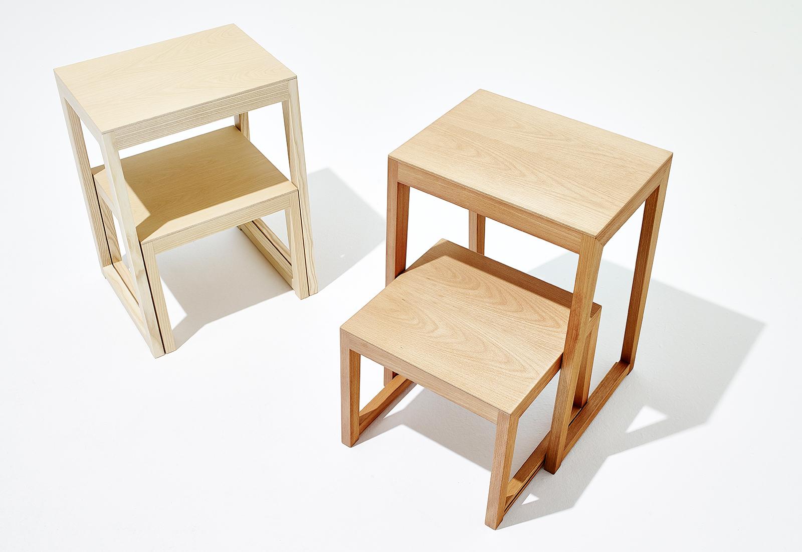 Designermöbel holz  Holz Trittleiter, Stehleiter, Leiterhocker THEO STEP von sixay ...