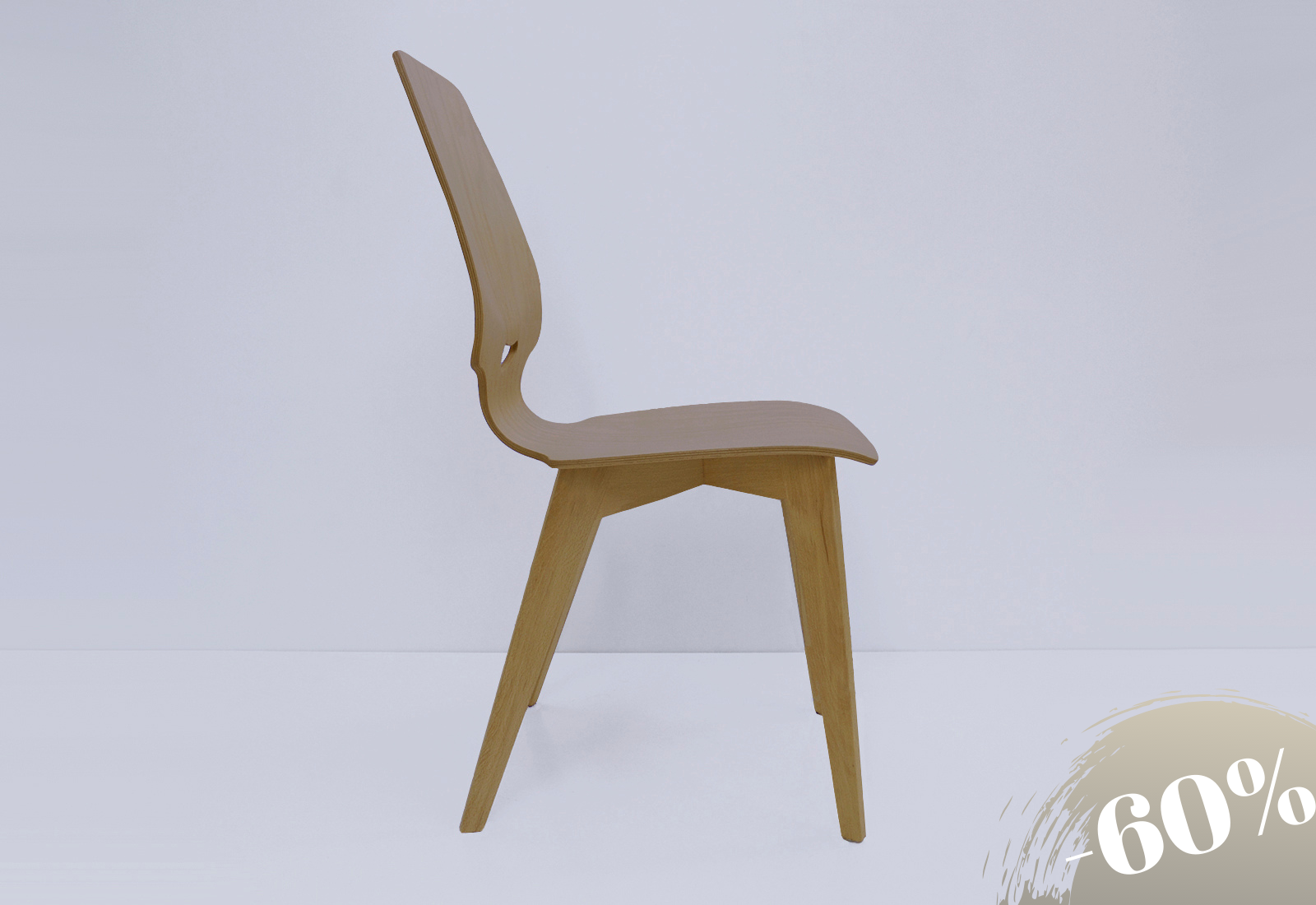 FINN chair beech with oak legs