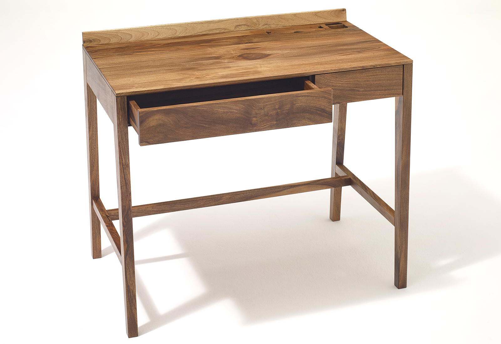 Theo Light Desk Solid Wood Home Office By Sixay Furniture