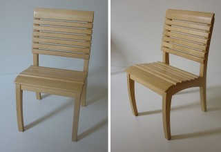 GH kids chair slatted