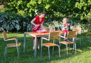 ROBIN garden table 90×180