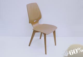 FINN Stuhl Buche mit Eiche Füssen